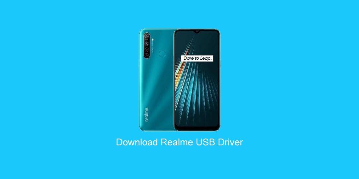 Download USB Driver Realme Semua Tipe Terbaru